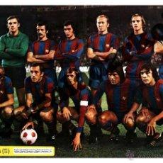 Coleccionismo deportivo: FOTOGRAFIA 15X23 F.C. BARCELONA 75-76 1975-1976 JOHAN CRUYFF. Lote 126781915