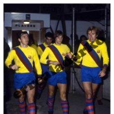 Coleccionismo deportivo: FOTOGRAFIA 15X19 F.C. BARCELONA - JOHAN CRUYFF. Lote 131847463