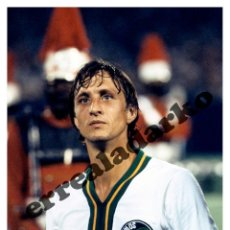 Coleccionismo deportivo: FOTOGRAFIA 15X21 NEW YORK COSMOS - JOHAN CRUYFF 1978. Lote 131847517