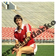Coleccionismo deportivo: FOTOGRAFIA 15X22 L.A. AZTECS - JOHAN CRUYFF 1979. Lote 44174079