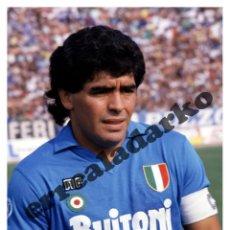 Coleccionismo deportivo: FOTOGRAFIA 15X21 NAPOLI - ITALIA - DIEGO ARMANDO MARADONA 1987-88. Lote 44287816