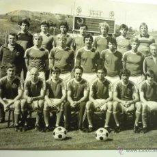 Coleccionismo deportivo: FOTOGRAFIA GRANDE PLANTILLA EQUIPO DE FUTBOLZBROJOVKA BRNO.-. Lote 44306496