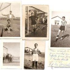 Coleccionismo deportivo: FÚTBOL JUVENIL: 5 FOTOS. Lote 44430696