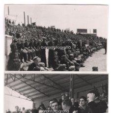 Coleccionismo deportivo: BARCELONA, CAMPO FUTBOL DEL ESPAÑOL DE SARRIÀ, MAYO 1939. FESTIVAL DEPORTIVO DEL FRENTE JUVENTUDES.. Lote 45039925