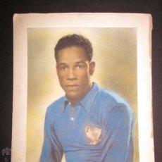 Coleccionismo deportivo: BEN BAREK - JUGADOR ATHLETICO DE MADRID - FOTOGRAFIA CAMISETA SELECCION FRANCESA . Lote 45262625