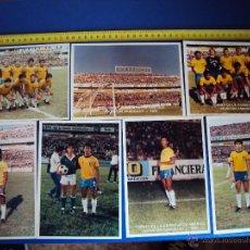 Coleccionismo deportivo: (ROM-2)LOTE DE 18 FOTOGRAFIAS ORIGINALES DE ROMARIO,VASCO DE GAMA Y SELECCION BRASILEÑA. Lote 45401888