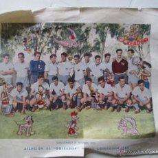 Coleccionismo deportivo: SELECCIONADO PAYSANDÚ 1953 URUGUAY. COLECCIÓN GOLEADOR. Lote 45414082