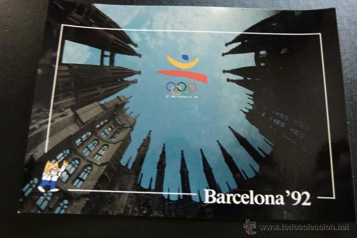 Coleccionismo deportivo: POSTAL CONJUNTO DE 3 POSTALES COLECCION OLIMPICA BARCELONA 92 Nº 52 , 63 Y 118 - Foto 3 - 45506763