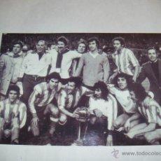Coleccionismo deportivo - FOTO TAMAÑO 31X21 CM APROX - ATLETICO MADRID CAMPEON COPA INTERCONTINENTAL - 45711464