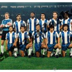 Coleccionismo deportivo: FOTOGRAFIA 15X20 PORTO 1987 CAMPEON COPA DE EUROPA - OPORTO. Lote 46074664