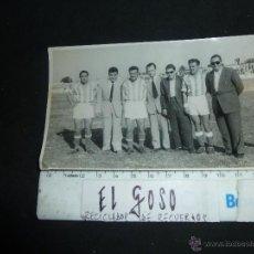 Coleccionismo deportivo: FOTOGRAFIA DE PRESENTACION DE JUGADORES EN EL XEREZ DEPORTIVO, AÑOS 50, RAFAEL VERDU, ETC. Lote 46206248