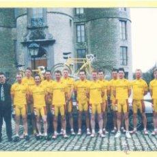 Coleccionismo deportivo: CICLISMO: FOTO DE EDDY MERCKX CON EL EQUIPO S.G. VLAANDEREN. AÑO 2002. Lote 46232664