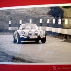 Coleccionismo deportivo: AUTOMOVILISMO - CARRERAS MONTJUICH - 1977 - 2 FOTOGRAFIAS. Lote 46894561