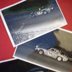Coleccionismo deportivo: AUTOMOVILISMO - CARRERAS MONTJUICH - 1977 - 3 FOTOGRAFIAS . Lote 46894614