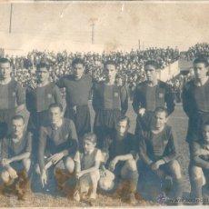 Coleccionismo deportivo: BARÇA: HISTÓRICA FOTOGRAFÍA DEL EQUIPO QUE JUGÓ EN CHAMARTÍN LA TEMPORADA 41-42. Lote 46973297
