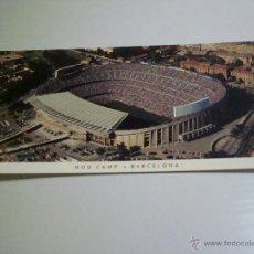Coleccionismo deportivo: POSTAL DEL CAMP NOU 21X11. Lote 47078921