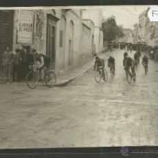 Coleccionismo deportivo: CICLISMO - VOLTA CICLISTA A CATALUNYA AÑO 1935 - FOTOGRAFIA BADOSA - MIDE 11,5 X 17 CM. - (F-879). Lote 47145723