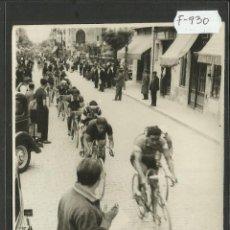 Coleccionismo deportivo: CICLISMO - VOLTA CICLISTA A CATALUNYA AÑO 1935 - FOTOGRAFIA BADOSA - MIDE 11,5 X 17 CM. - (F-930). Lote 47146988