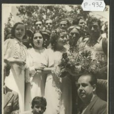 Coleccionismo deportivo: CICLISMO - VOLTA CICLISTA A CATALUNYA AÑO 1935 - FOTOGRAFIA BADOSA - MIDE 11,5 X 17 CM. - (F-932). Lote 47147041