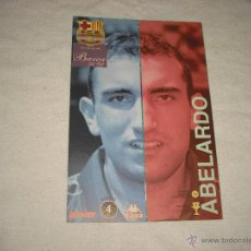 Coleccionismo deportivo: LA PLANTILLA DEL BARÇA 96- 97 . ABELARDO. Lote 47471087