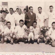 Coleccionismo deportivo: FOTO DE 7X10 CMS - PARTIDO CD LA ESPAÑOLA CONTRA CD LA CAMPANA - VER REVERSO. Lote 47698998