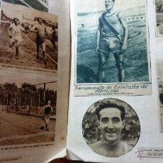 Coleccionismo deportivo: LOTE 50 FOTOS ATLETISMO FEMENINO MASCULINO ANTIGUOS RECORTES PRENSA AÑOS 30 CASTELLTORT ZABALA . Lote 47781717