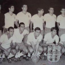 Coleccionismo deportivo - (F-0222)FOTOGRAFIA DEL REAL ZARAGOZA,3-C.F.BARCELONA,4-FINAL DE LA COPA DE FERIAS AÑO 1966 - 47811919