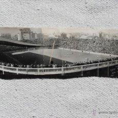 Coleccionismo deportivo: FOTOGRAFIAS DEL CAMPO DE LES CORTS DEL .C.F BARCELONA ORIGINALES. Lote 47877018