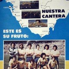 Coleccionismo deportivo: CADIZ CLUB DE FUTBOL - POSTER CAPTACIÓN DE SOCIOS - PRINCIPIOS AÑOS 80. Lote 48460403