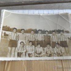 Coleccionismo deportivo - FOTO FOTOGRAFIA DE EQUIPO DE FUTBOL A IDENTIFICAR - 49206967