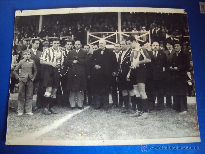 Coleccionismo deportivo: (F-0801)FOTOGRAFIA PARTIDO DE FUTBOL HERCULES C.F.-ATHLETIC DE BILBAO,12 DE ENERO DE 1933 - Foto 2 - 50542004