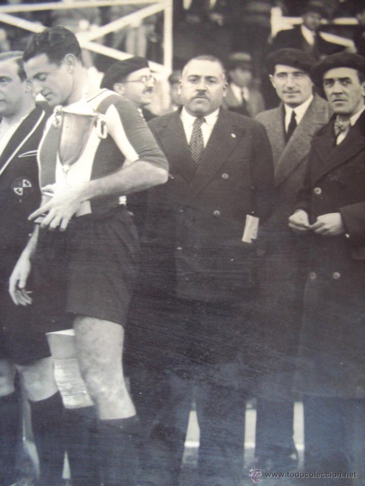 Coleccionismo deportivo: (F-0801)FOTOGRAFIA PARTIDO DE FUTBOL HERCULES C.F.-ATHLETIC DE BILBAO,12 DE ENERO DE 1933 - Foto 5 - 50542004