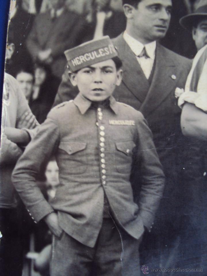 Coleccionismo deportivo: (F-0801)FOTOGRAFIA PARTIDO DE FUTBOL HERCULES C.F.-ATHLETIC DE BILBAO,12 DE ENERO DE 1933 - Foto 6 - 50542004