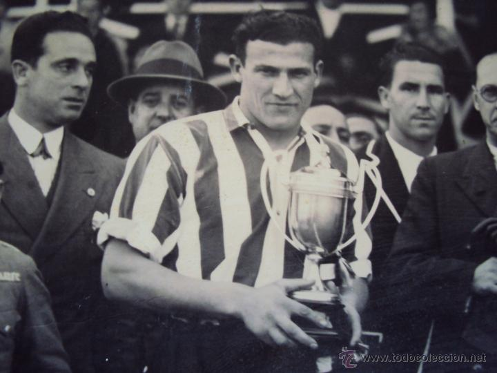 Coleccionismo deportivo: (F-0801)FOTOGRAFIA PARTIDO DE FUTBOL HERCULES C.F.-ATHLETIC DE BILBAO,12 DE ENERO DE 1933 - Foto 7 - 50542004