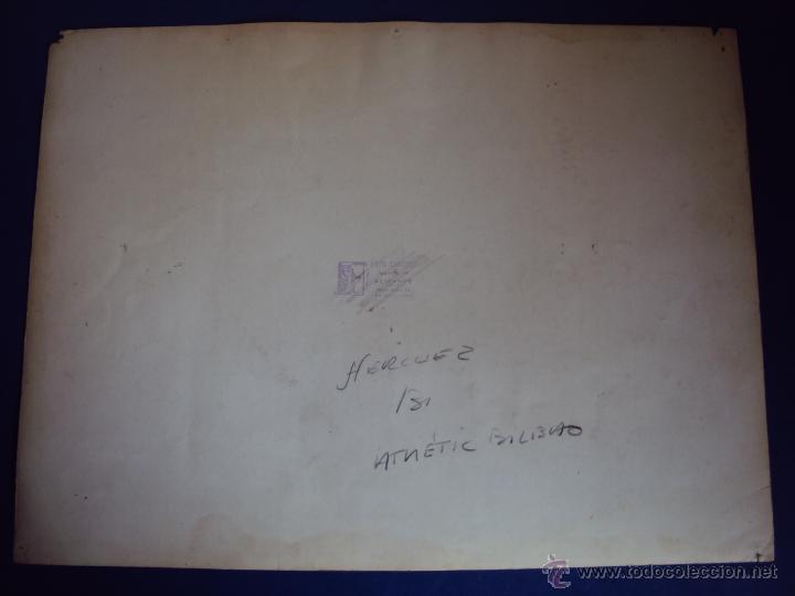 Coleccionismo deportivo: (F-0801)FOTOGRAFIA PARTIDO DE FUTBOL HERCULES C.F.-ATHLETIC DE BILBAO,12 DE ENERO DE 1933 - Foto 9 - 50542004