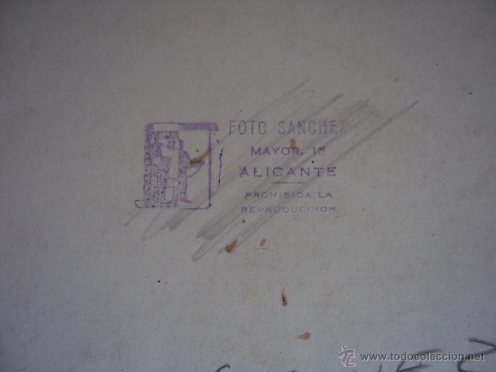 Coleccionismo deportivo: (F-0801)FOTOGRAFIA PARTIDO DE FUTBOL HERCULES C.F.-ATHLETIC DE BILBAO,12 DE ENERO DE 1933 - Foto 10 - 50542004