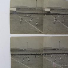 Coleccionismo deportivo: F-885. FOTOGRAFIAS PARTIDO DE FUTBOL. PRINCIPIOS SIGLO XX. CUATRO FOTOGRAFIAS.. Lote 50648043