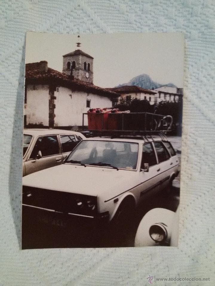 FOTO ANTIGUA -II RALLYE DE INVIERNO-1980-ASISTENCIA- RIAÑO. (Coleccionismo Deportivo - Documentos - Fotografías de Deportes)