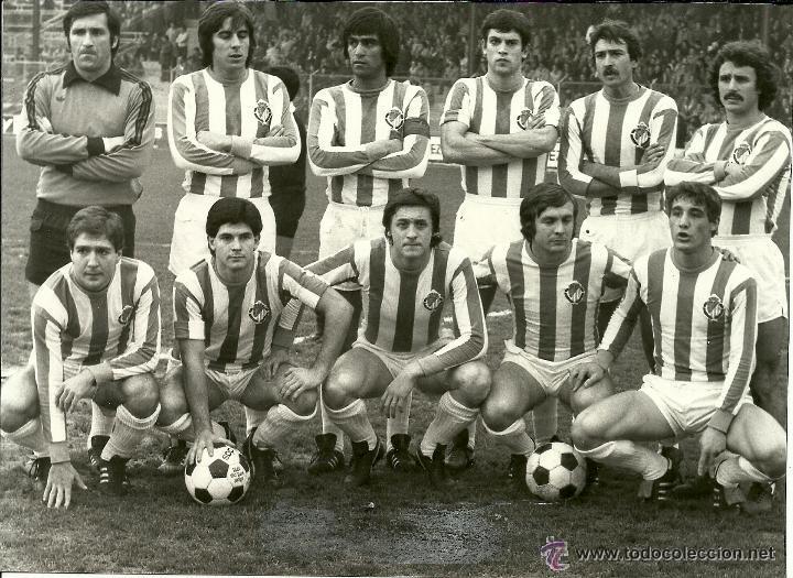 Antigua fotografia original del equipo del real comprar fotograf as antiguas de deportes en - Fotos del real valladolid ...