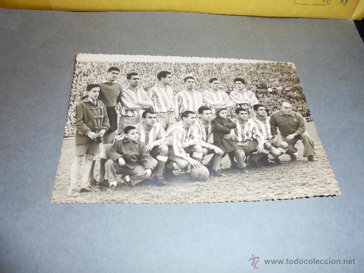 REAL CLUB DEPORTIVO ESPANYOL - ANTIGUA FOTOGRAFIA ORIGINAL DE EPOCA - EQUIPO ESPANYOL - 17,5X11,5 CM (Coleccionismo Deportivo - Documentos - Fotografías de Deportes)