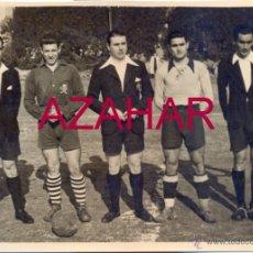 Coleccionismo deportivo: SEVILLA, AÑOS 40, RARA FOTOGRAFIA PARTIDO FUTBOL, CALAVERA.C.F.148X105MM. Lote 51617727