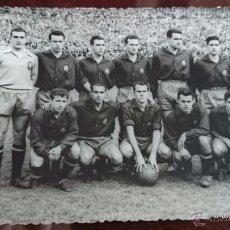 Coleccionismo deportivo: FOTOGRAFIA FOTO ORIGINAL SELECCION ESPAÑOLA ESPAÑA GRECIA FOTO ALVARO. Lote 51683141