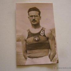 Coleccionismo deportivo: FOTOGRAFÍA ORIGINAL DEL JUGADOR DE BALONCESTO DEL F.C. BARCELONA. LUIS CENTELLES 1943. Lote 52000099