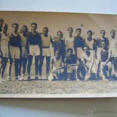 Coleccionismo deportivo: FOTOGRAFÍA ORIGINAL DE LA SELECCIÓN CATALANA DE BALONCESTO 1938. Lote 52320753