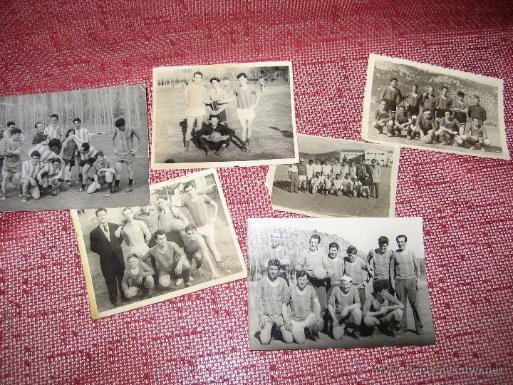 ANTIGUAS FOTOGRAFIAS DE EQUIPOS DE FUTBOL (Coleccionismo Deportivo - Documentos - Fotografías de Deportes)