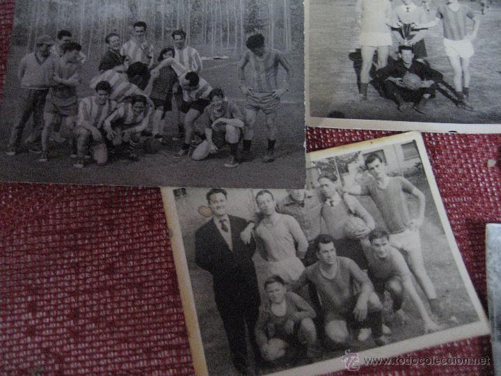 Coleccionismo deportivo: ANTIGUAS FOTOGRAFIAS DE EQUIPOS DE FUTBOL - Foto 3 - 52396640