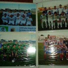 Coleccionismo deportivo: ALBUM FOTOS FUTBOL EXTREMADURA AÑOS 2000 - 2006 COMPLETOS. Lote 52435590