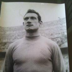 Coleccionismo deportivo: PORTERO JUANITO ALONSO REAL MADRID AÑOS 50 TAMAÑO 24X18... Lote 52480562