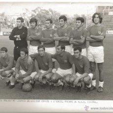 Coleccionismo deportivo - FOTOGRAFIA FUTBOL EQUIPO CD MALAGA 1970 RCD ESPANYOL ESTADIO SARRIA FOTO ORIGINAL SEGUÍ BARCELONA (7 - 52847796