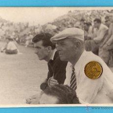 Coleccionismo deportivo: CD. MALAGA. FOTO DE RICARDO ZAMORA, ENTRENADOR DEL CD.MALAGA.TAMAÑO 17X12. Lote 50578234